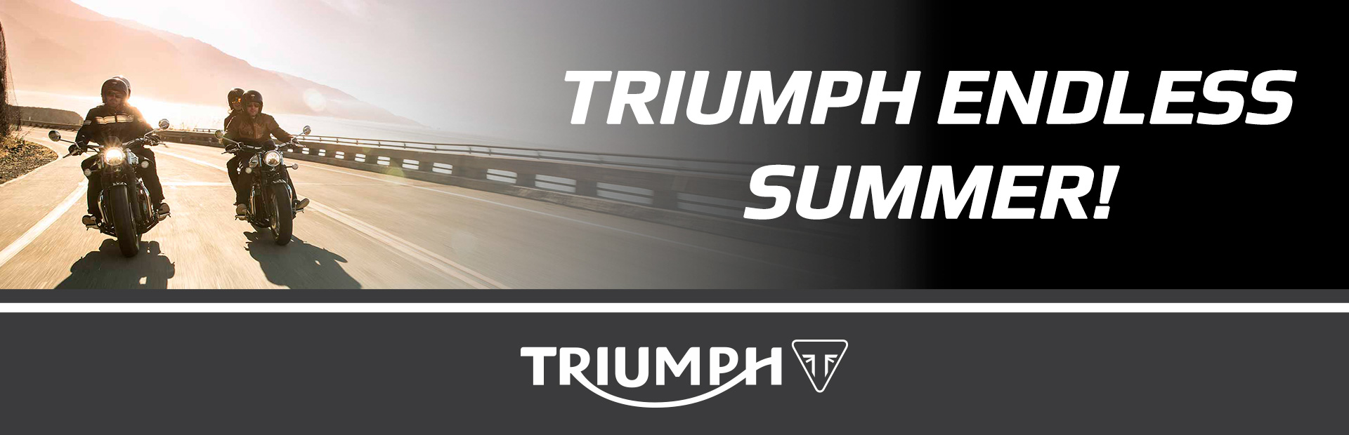 Triumph: TRIUMPH ENDLESS SUMMER!